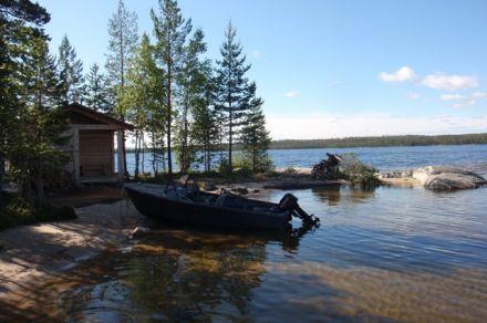 Базы рыболовные на пяозере