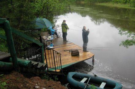 рыбалка в тверской области. дикий отдых