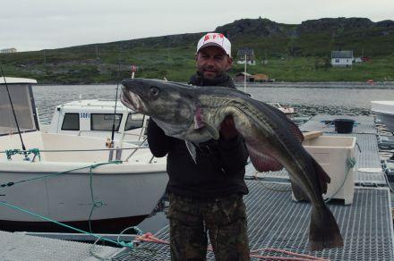 был на рыбалке в норвегии