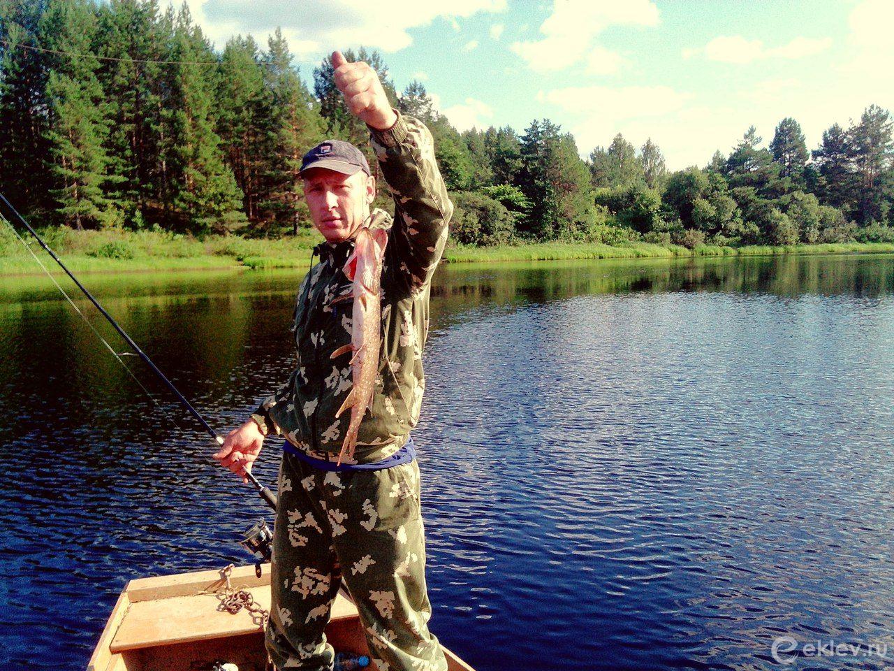 Рыбалка в устье унжи