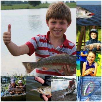 Отдых с рыбалкой для всей семьи.